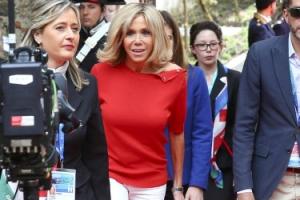 '의상보다 내면이 고급이면…' 프랑스 대통령 부인 브리짓 여사