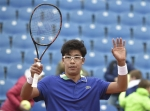 한국 테니스 희망 쏜 정현…