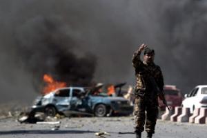 """아프간 카불 미 대사관 인근서 폭발…현지 언론 """"자폭테러범 소행인듯"""""""