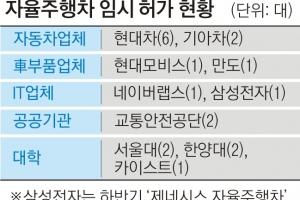 """[단독] 국토부 """"안전성 재검증""""… LG전자 자율차 '일단 멈춤'"""