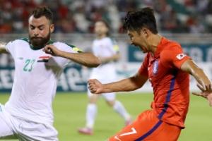 한국, 이라크와 0-0 무승부…답답한 90분