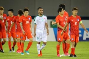 한국 축구, 답답한 90분…이라크와 득점 없이 무승부