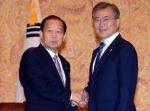 문재인 대통령, 일본특사…
