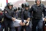 러시아 반정부시위자 1500…