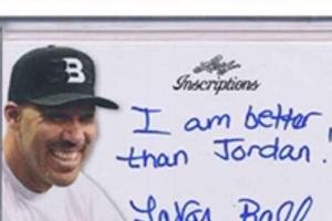 '아무말의 대가' 라바 볼 서명 담긴 트레이딩 카드 경매 나온다