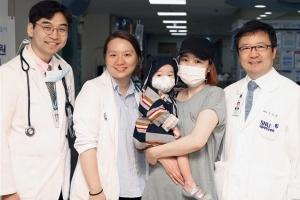 서울대병원 2세 미만 유아 폐이식 성공