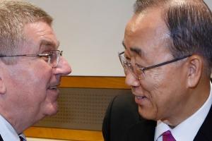 반기문 전 총장 IOC 윤리위원장 지명, 9월에 정식 선출