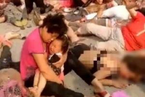 중국 장쑤성 유치원서 폭발 참사…사상자 최소 60여명