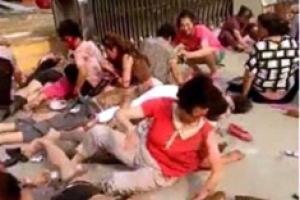 中유치원 귀가 시간에 폭발 사고… 최소 7명 사망
