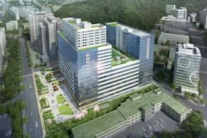 성남 SK V1 tower, 층고 차별화