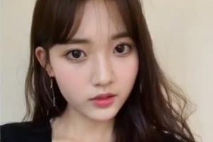 인형 같은 외모…'배스킨라빈스 소녀' 정다빈 근황