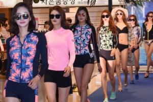 [서울포토] '비키니부터 래쉬가드까지'… 수영복 패션쇼
