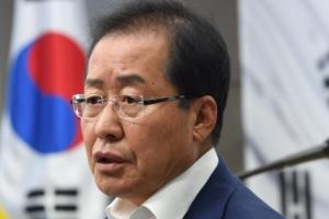 """홍준표, 홍석현 겨냥 """"언론기관이 사과·법적조치 운운, 어이없다"""""""