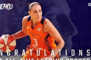 [WNBA] 타우라시 역대 통산 득점 1위로, 코비와 킹 제임스도 축하