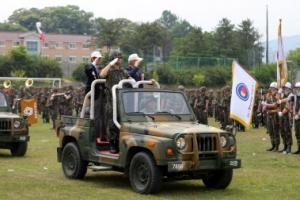 육군 26사단 창설 64주년 참전용사 열병식