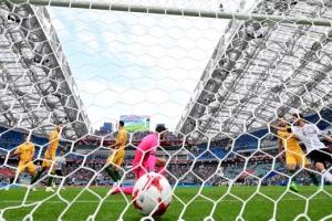 '미니월드컵' 컨페드컵 독일 1차전 승리