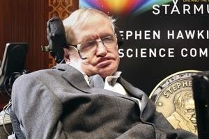'55년간 시한부 인생' 호킹은 죽음·장애 극복의 아이콘