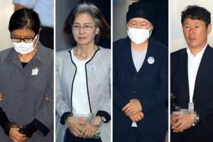 최순실 국정농단 중 '정유라 학사 비리' 첫 유죄…징역 3년(종합)