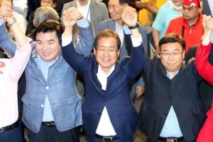 """한국당 당권주자 첫 합동연설회…""""내가 강한 보수 야당 이끌 적임자"""""""