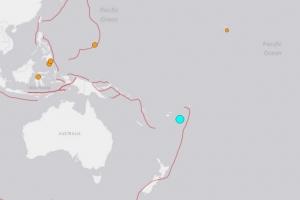 남태평양 통가 북서 209㎞에서 규모 6.2 지진 발생