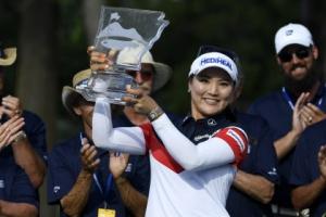 유소연, LPGA 월마트 챔피언십 우승…세계 1위 등극
