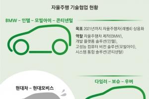 '자율차 짝짓기' 한창인데, 한국은 나혼자 산다?