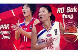 FIBA, 여자농구 아시아컵 앞두고 북한 박향정·로숙영 조명