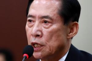 """송영무 """"음주운전, 젊었을 때 실수…대단히 송구"""""""