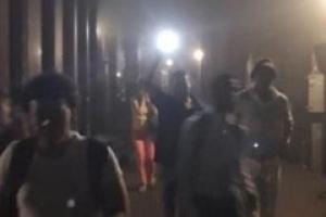 뉴욕 지하철 탈선사고…출근하던 시민 수백명 대피