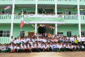 현대건설 미얀마에 초등학교 건립·기증