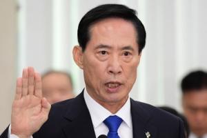 송영무, 음주운전 은폐·무마 의혹에…청문회 결국 파행