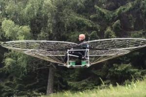 스웨덴 발명가가 만든 호버 크라프트 화제
