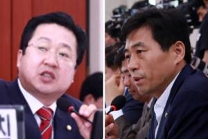 """'김상곤 청문회'에서 한국당 이장우, 여당에게 """"끼어들지 마라"""""""
