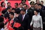 """홍콩 간 시진핑 첫 일성 """"…"""