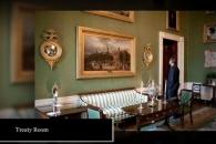 백악관 사적 공간 '트리티 룸' 어떻게 생겼나 봤더니…