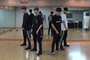 브랜뉴보이즈의 파워풀 칼군무…'할리우드' 안무 영상