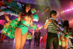 '화려한 오프닝 무대' 중국 연예인들