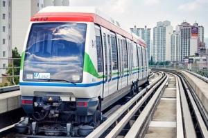 의정부경전철 폭설에 운행중단…2시간만에 재개