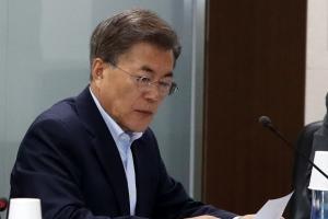 """""""성명으로 대응할 상황 아니다""""···문 대통령 '미사일 사격훈련' 지시"""