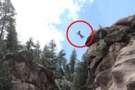 25m 절벽서 배치기로 다이빙 한 여성, 결국은…