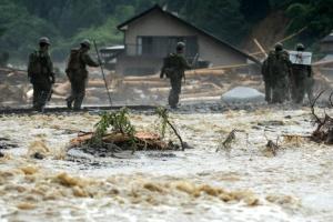 일본 규슈 폭우 피해 사망자 18명…이재민 1700여명