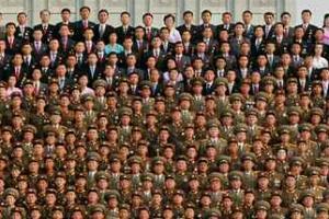 도대체 몇명이야?...북한 단체사진 규모