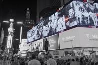 뉴욕 타임스퀘어 '군함도' 광고, SNS통해 전 세계에…