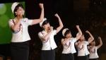 北 여성공연단의 화사한 …