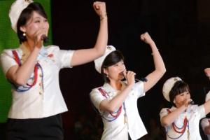 [포토] 北 여성공연단의 화사한 미소와 경쾌한 율동