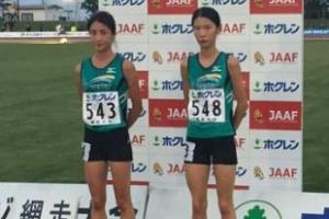 김도연과 정다은, 여자 5000m 한국신기록 나란히 경신