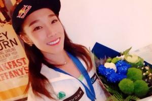 '암벽여제' 김자인, 스위스 클라이밍 월드컵 은메달