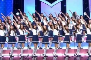 '아이돌학교' 입학생 41명의 '예쁘니까' 합창 무대
