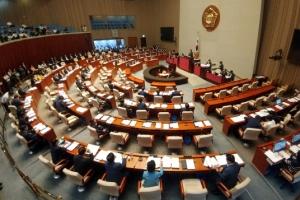 야당 참여속 예결특위 개회