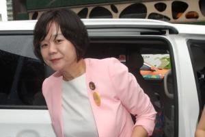 """퀴어축제 참석한 이정미 정의당 대표 """"동성혼 합법화 나라 만들 것"""""""